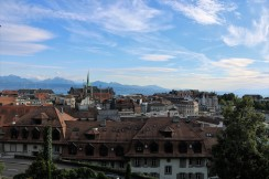 Over Lausanne