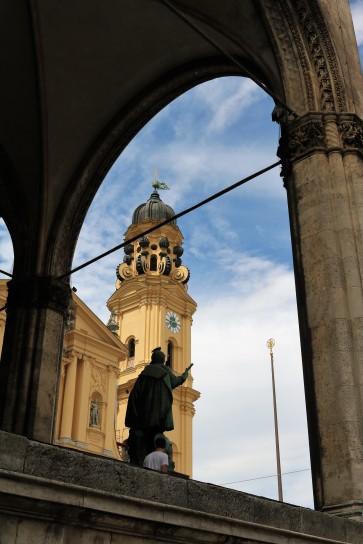 Theatine Church and Feldherrnhalle