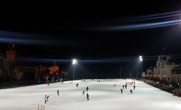 City Park Ice Rink, largest in Europe