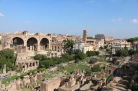 Over the Roman Forum
