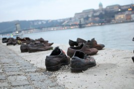 Shoes of the Danube
