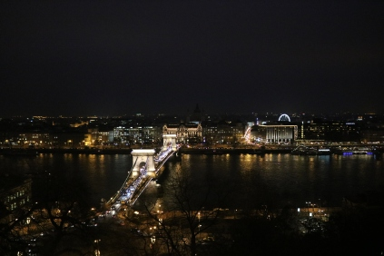 Over Budapest